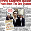 The Saw Doctors Front page spread in The Galway Advertiser