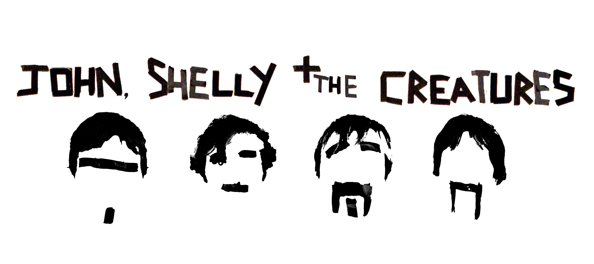 John, Shelly &amp; The Creatures logo